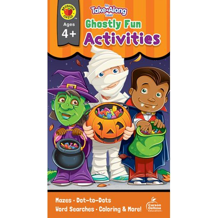 Fun Family Halloween Activities (My Take-Along Tablet Ghostly Fun Activities, Ages 4 -)