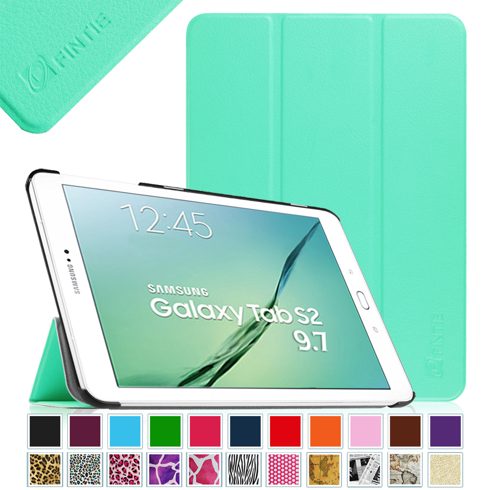 pretty nice 98ab0 d2739 Fintie Samsung Galaxy Tab S2 9.7 Tablet Smart Case - Ultra Slim Lightweight  Stand Cover with Auto Sleep/Wake