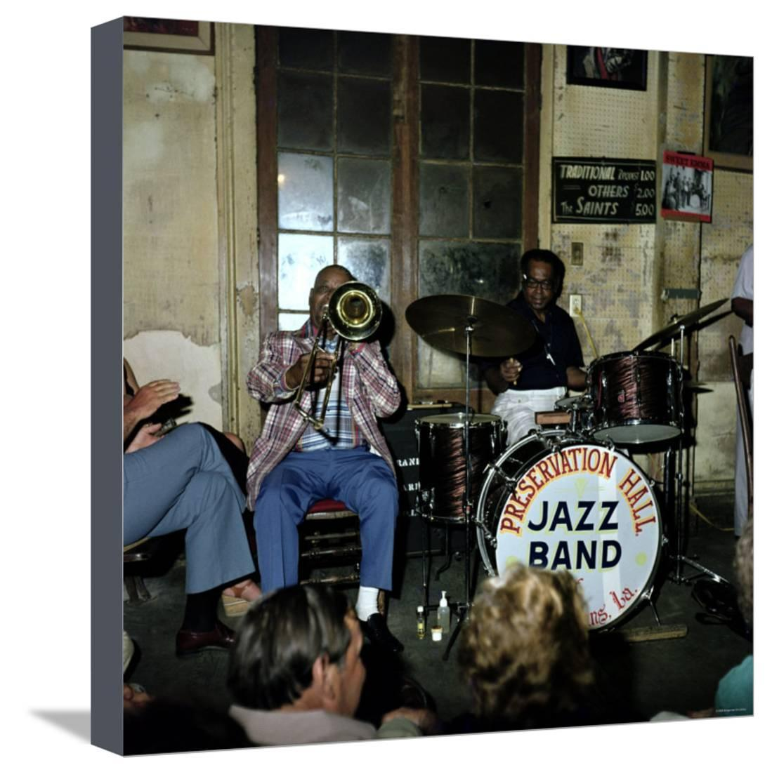 Art print POSTER CANVAS Preservation Hall Jazz