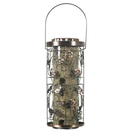 Perky-Pet 4 lb Copper Meadow Wild Bird Feeder ()