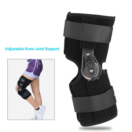 WALFRONT Oper Adjustable Knee Joint Support Orthosis Brace Support Ankle Strap Support, Knee Splint Support, Ankle Strap -