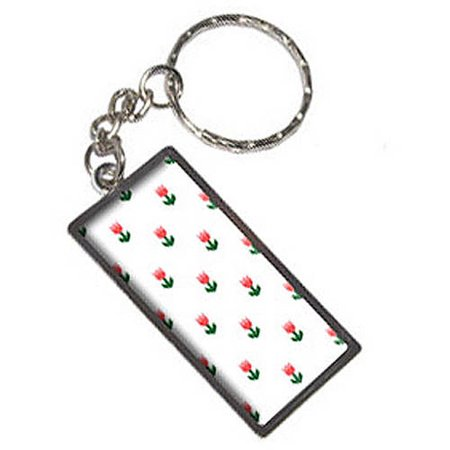 Tulips On Parade Keychain Key Chain - Tulip Rings