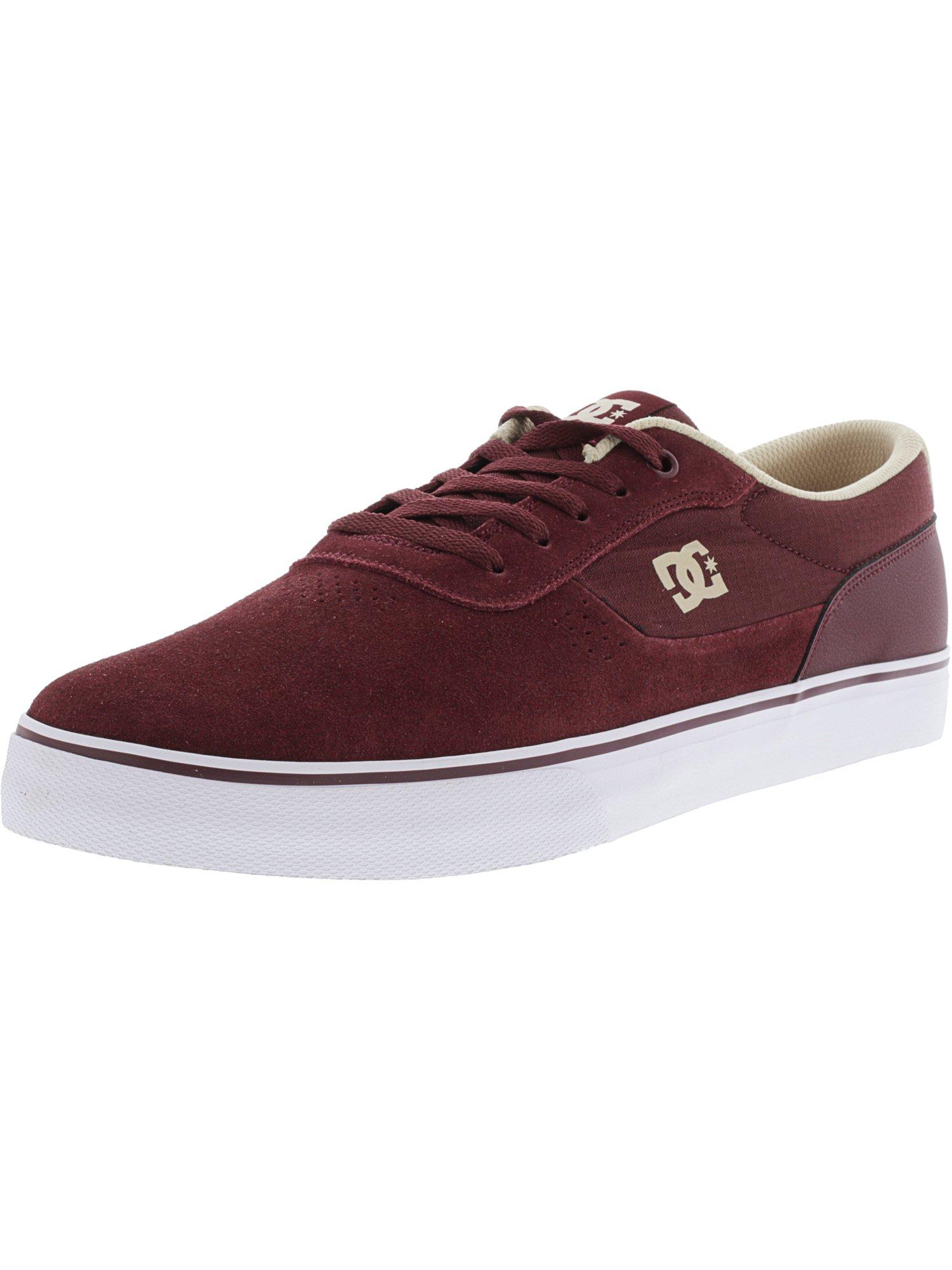 Dc Men's Switch S Black / Light Grey Ankle-High Leather Skateboarding Shoe - 12M