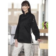 0490-0107 Sedona Chef Coat in Black - 3XLarge