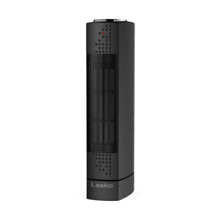 Lasko Ultra Slim Electric Tower Heater, Black (Best Portable Electric Heater For Large Room)