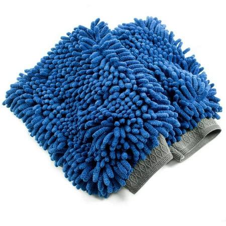 Zwipes Microfiber Wash Mitt, 2pk