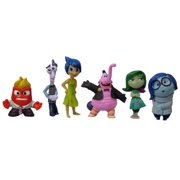 Disney/Pixar Inside Out 6 Piece Figure Set - Disgust, Fear, Sadness, Joy, Anger and Bing Bong