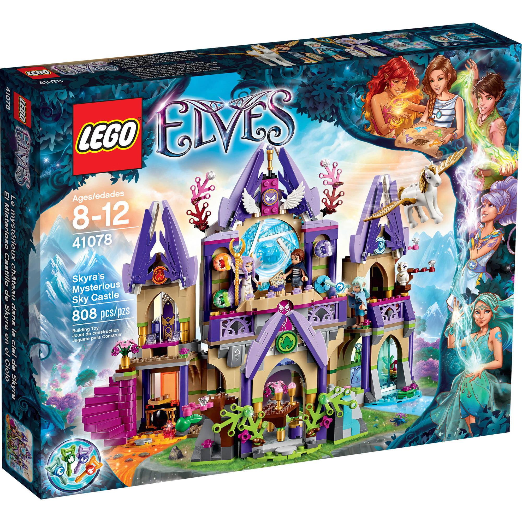 LEGO Elves Skyra's Mysterious Sky Castle, 41078