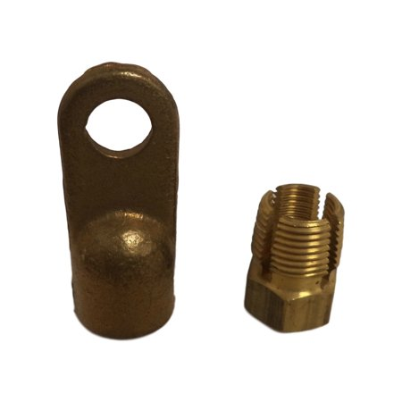 Borg Warner 2 Gauge Brass Compression Lug Terminals BH404