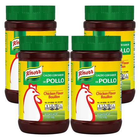 (4 Pack) Knorr Granulated Bouillon Chicken 15.9 - Knorr Chicken