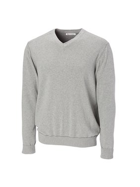 cutter & buck men's big and tall broadview v-neck sweater, black - 2xb