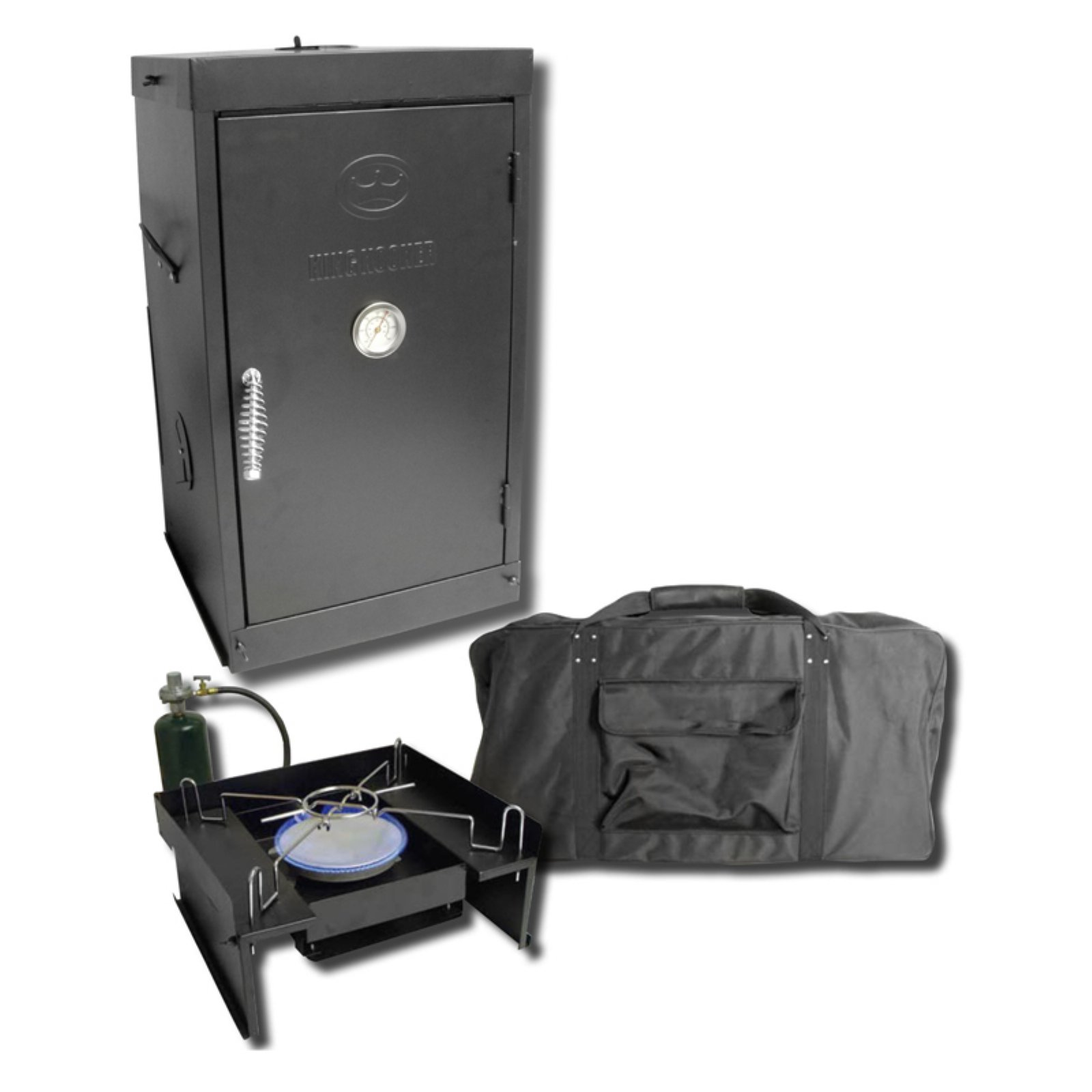 King Kooker Outdoor Chef's Smoker, Oven and Stove Propane Outdoor Package