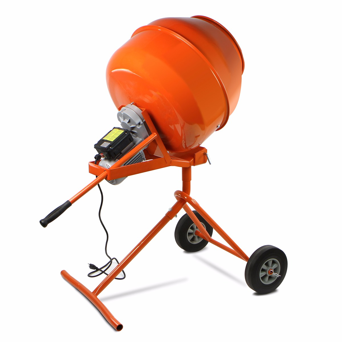 5 cu.ft Portable Electric Concrete Cement Mixer barrow Machine 1/2HP Mixing Mortar