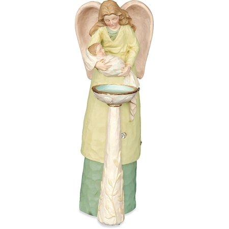 Baptism Angel Figurine - Angelstar Jewels of Faith Angel Figurine, Baptism Theme, 5-1/2-Inch, Collectible angel figurine By Angel Star
