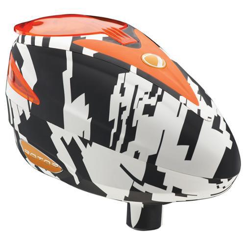 Dye Rotor Paintball Loader Hopper - Airstrike Orange