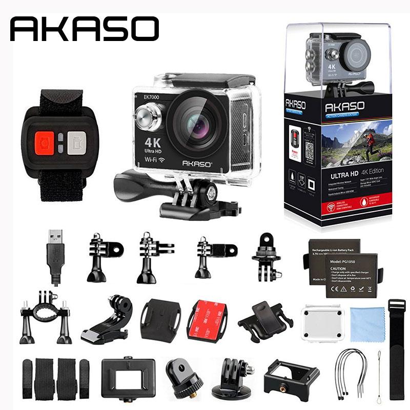 AKASO EK7000 4K WIFI Outdoor Sport Action Camera Ultra HD Waterproof DV Camcorder - Best Reviews Guide