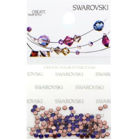 Swarovski 2038 Hot Fix Rhinestones FlatBack 6ss Purple Velvet 115 pcs