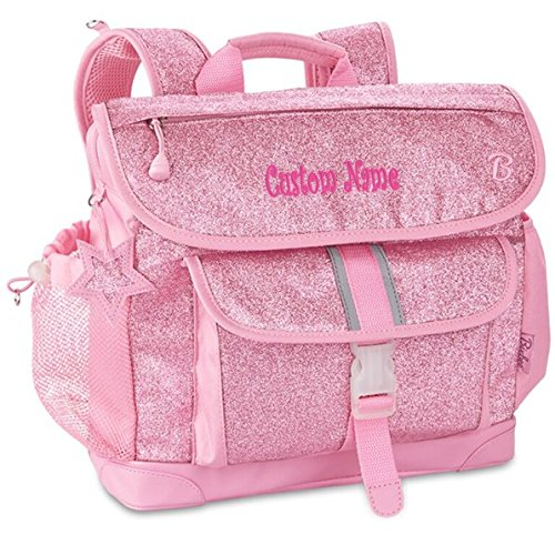 Personalized Bixbee Sparkalicious Glitter Backpack - Pink