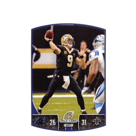 2018 Panini NFL Stickers #451 Drew Brees New Orleans Saints Football Sticker