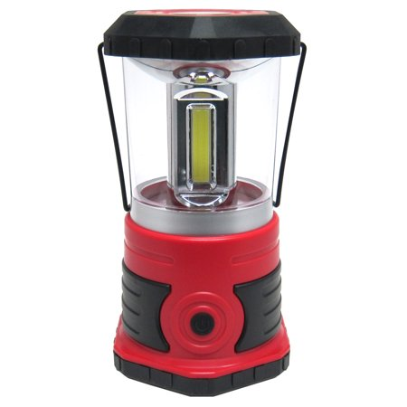 mighty power c o b led lantern with compass handle red black 750 lumens. Black Bedroom Furniture Sets. Home Design Ideas