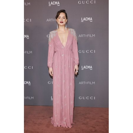 Dakota Johnson At Arrivals For 2017 Lacma Art  Film Gala Los Angeles County Museum Of Art Los Angeles Ca November 4 2017 Photo By Elizabeth GoodenoughEverett Collection Celebrity