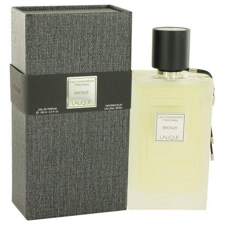 Lalique Les Compositions Parfumees Bronze Eau De Parfum Spray for Women 3.3 oz