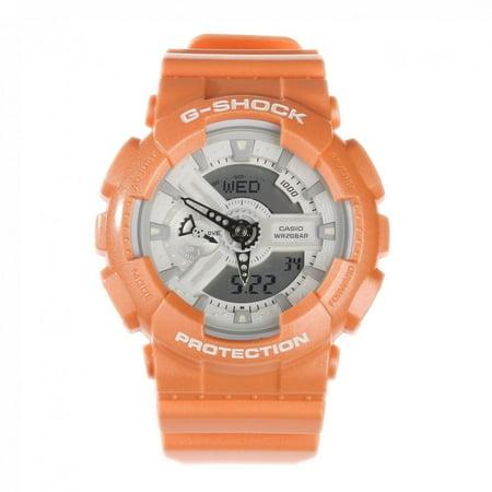 G-Shock GA-110SG-4A Orange Resin Band Analog Digital - Orange G-shock