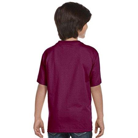 Hanes Boys` TAGLESS , ComfortSoft , Crewneck T-Shirt,Large, Yellow - image 3 of 4