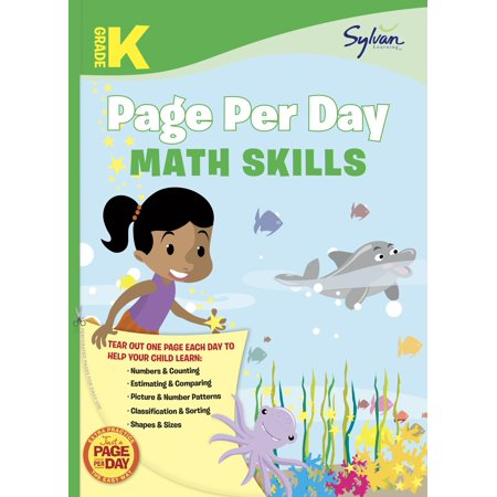 Kindergarten Page Per Day: Math Skills - Kindergarten Math Activities