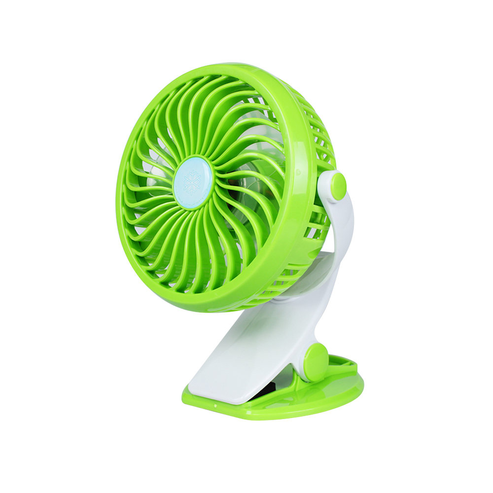 Air Cooler Rechargeable Lithium Battery Fan USB Laptop Desk Fan Stepless Speed Big Wind Ultra Quiet Mini ABS Fan Color : Blue