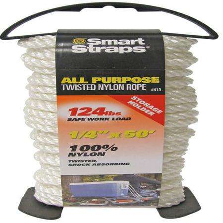 SmartStraps Twisted Nylon Rope, 1/4