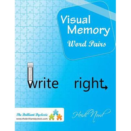 Visual Memory Word Pairs  Write Right