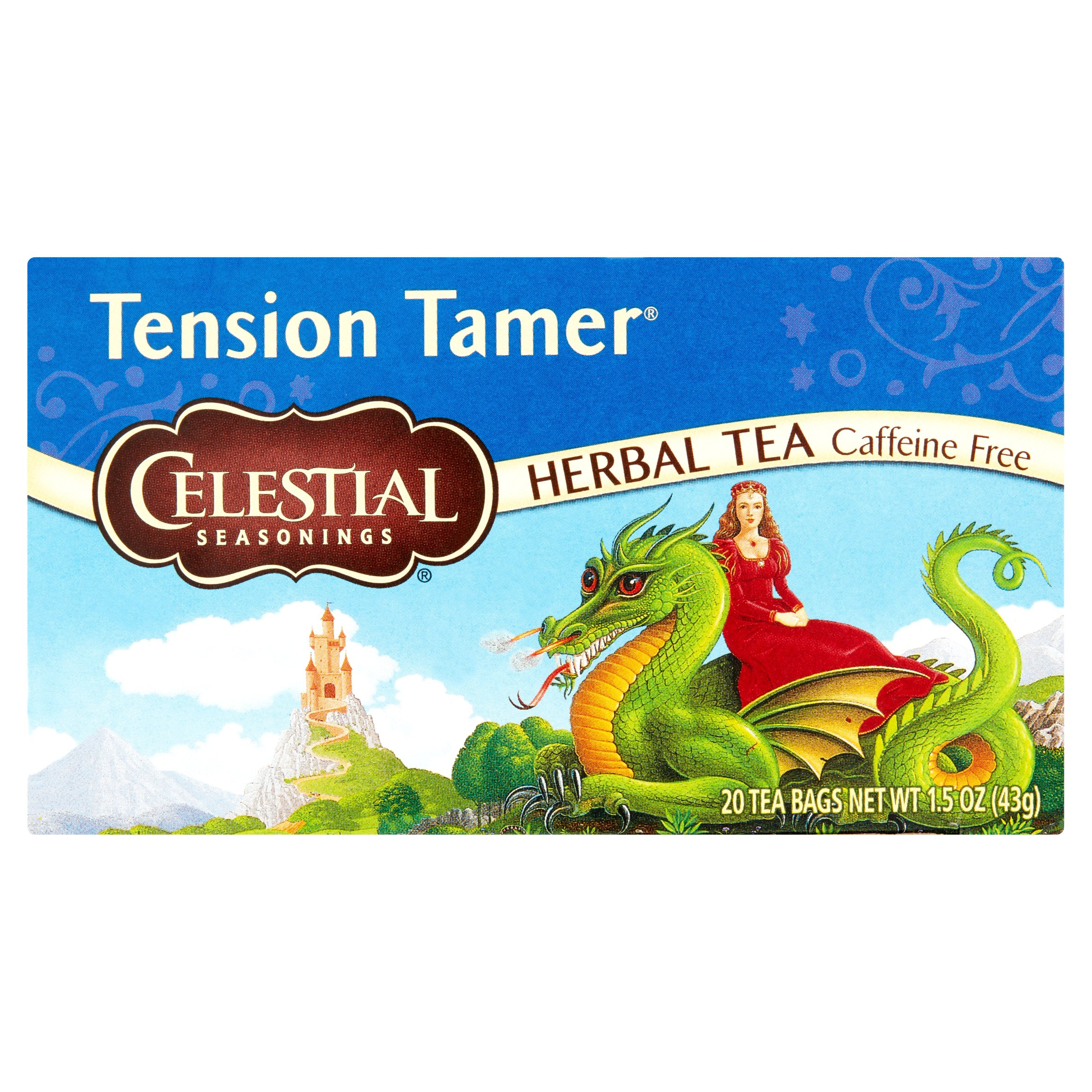 Celestial Seasonings: Caffeine Free Herbal Tea, 20 Ct
