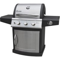 Landmann Falcon LP 3-Burner Gas Grill with Side Burner