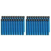 BOOMco. Blue with Black Stripe Smart Stick Darts, 40-Pack by Mattel