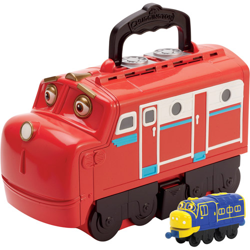 Chuggington Wilson Carry Case with Brewster Engine