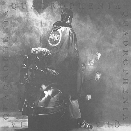 Vinyl Record Labels - Quadrophenia, Record Label: Geffen By The Who Format: Vinyl