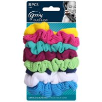 Goody Ouchless Scrunchies Gentle Hair Scrunchies Neon Lights 8 Ct