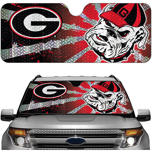 Georgia NCAA Auto Sunshade
