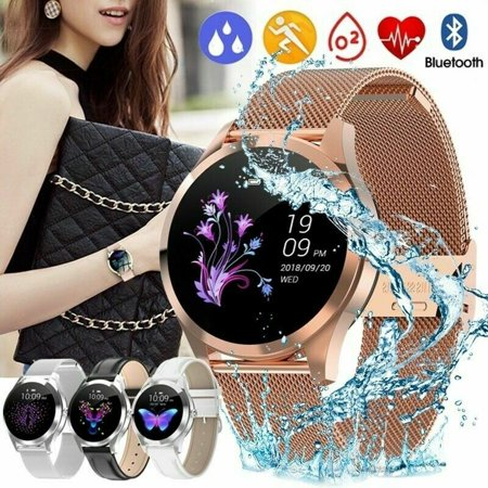 KW10 Smart Watch Women 2019 IP68 Waterproof Heart Rate Monitoring Bluetooth for Android iOS Fitness Bracelet Smartwatch (Best Watches Under 10000 2019)