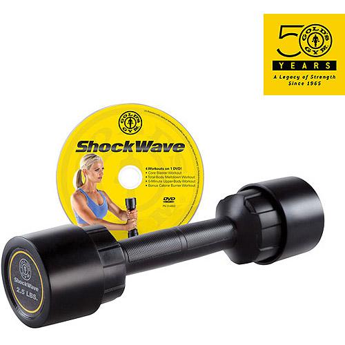 Gold's Gym 2.5 lb ShockWave Dumbbell