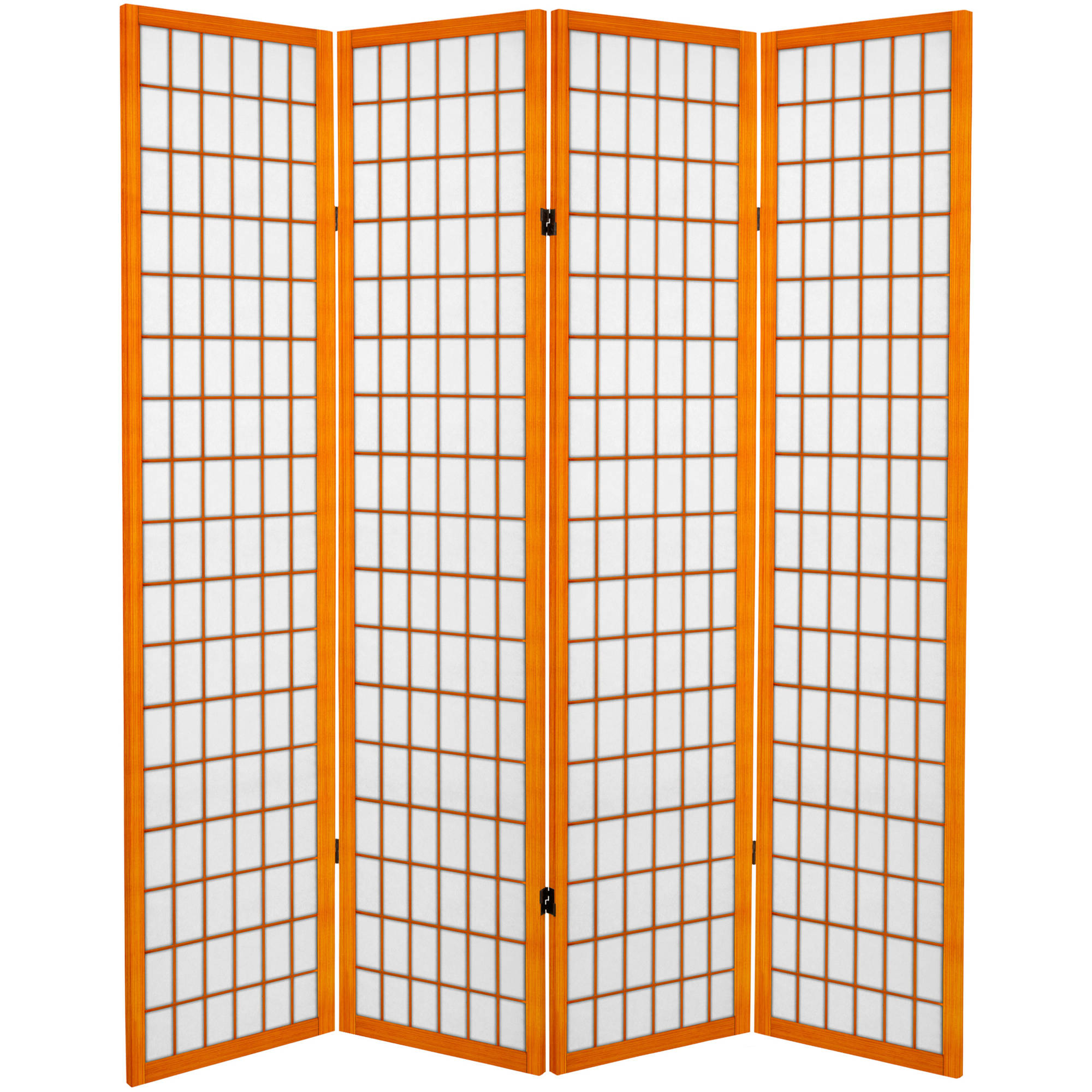 6' Tall Canvas Window Pane Room Divider