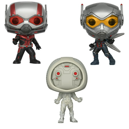 Funko POP! Marvel Ant-Man & Wasp Collectors Set - Ant-Man (Possible Limited Chase Edition), The Wasp (Possible Limited Chase Edition) & Ghost - Ghost Prop