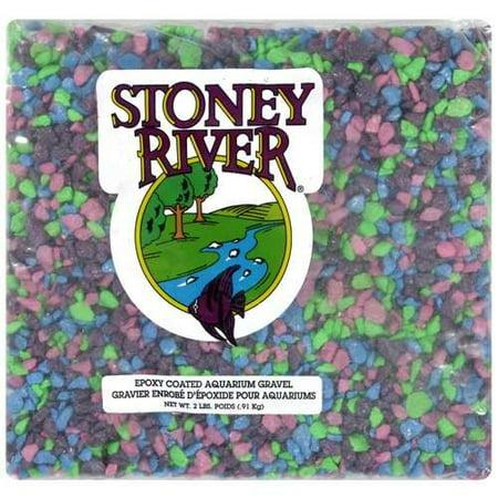 Saltwater Aquarium Gravel - Stoney River Aquarium Gravel, 2 lb