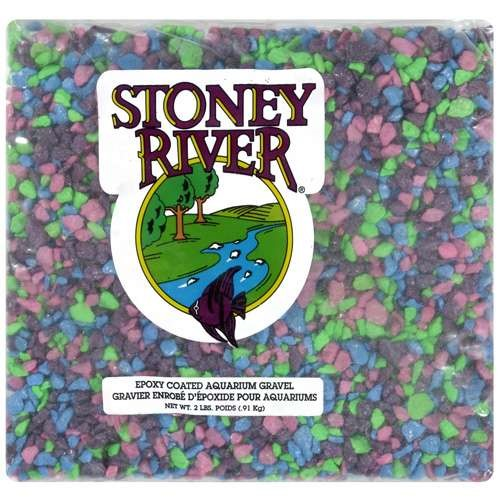 Stoney River Aquarium Gravel, 2 lb capacity