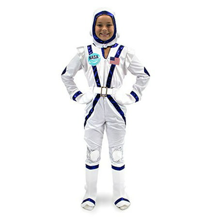 Boo! Inc. Spunky Space Cadet Astronaut Suit Kids Halloween Costume Dress Up - Space Suit Halloween Costume
