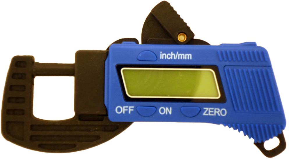 Carbon Fiber Composite Digital Caliper & Thickness Gauge (Precise: TM-15055) by ToolUSA