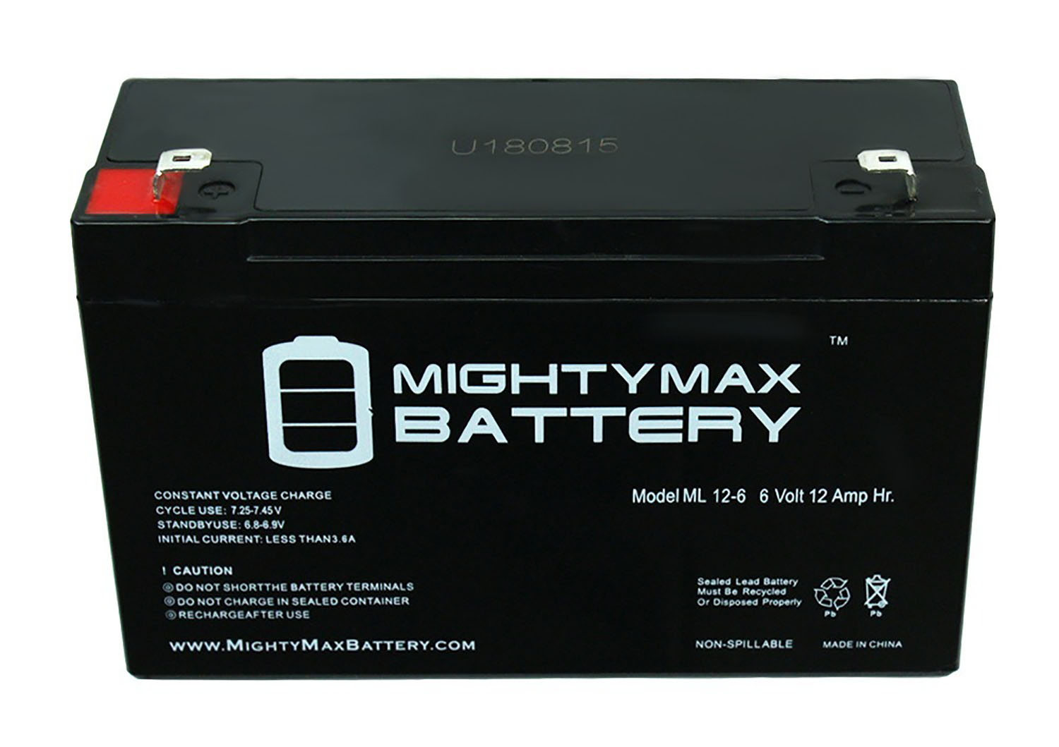 Mighty Max Battery 6V 12AH Replacement Battery for Tripp Lite BC PRO 850 BCPro 1050-6 Pack Brand Product