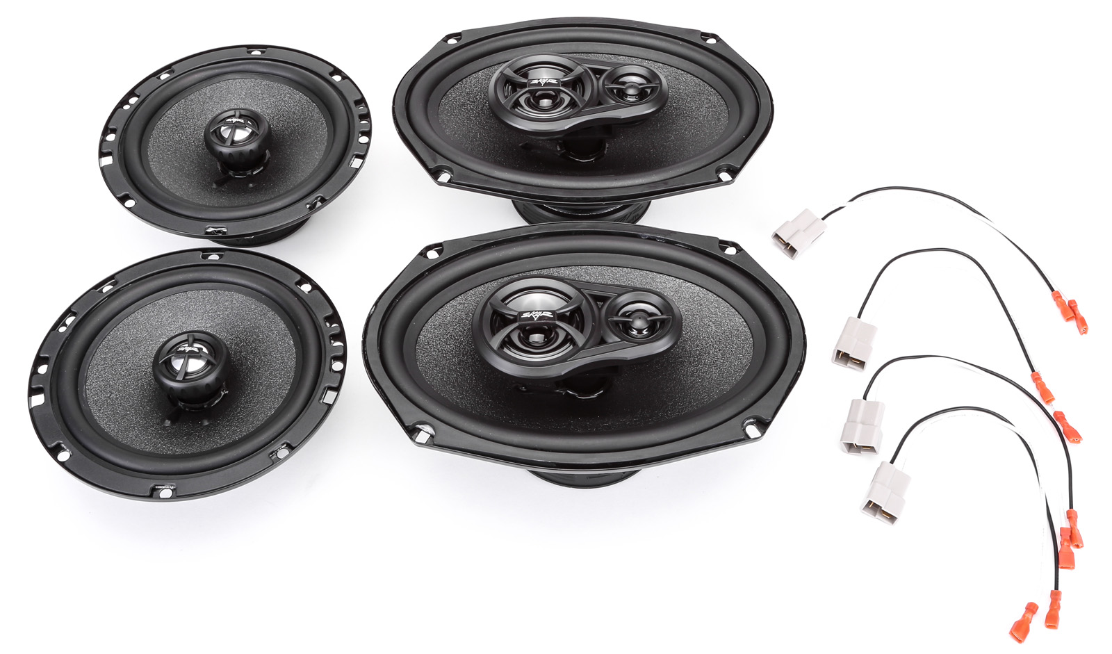 2000-2005 Mitsubishi Eclipse Complete Factory Replacement Speaker Package by Skar Audio by Skar Audio