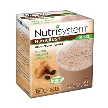 Nutricrush  Shake Mix Powder  Mocha Caramel 5Ct